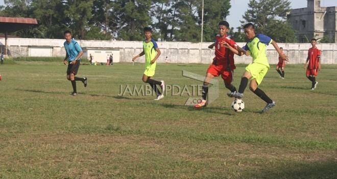 Pertandingan Gubernur Cup Jambi beberapa waktu lalu. Foto : Dok Jambi Update