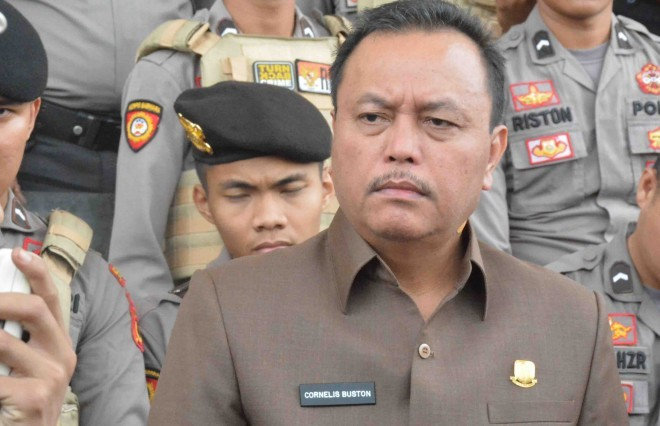 Ketua DPRD Provinsi Jambi Cornelis Buston (CB). Foto : Dok Jambi Update