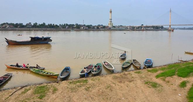 Sungai Batanghari. Foto : Dok Jambiupdate