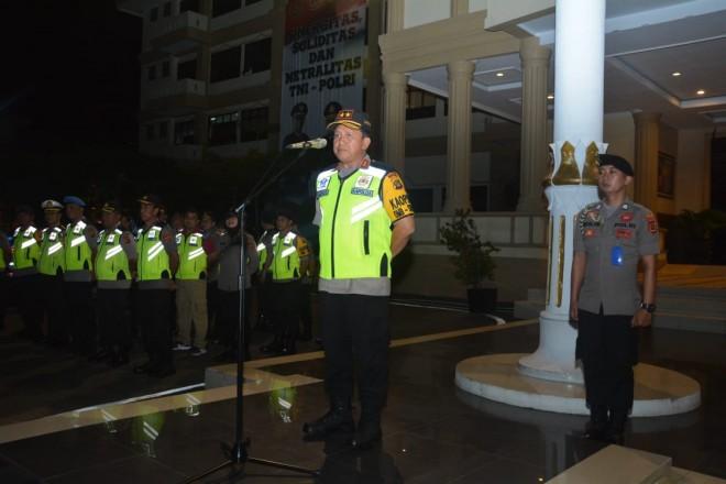 Malam ini, Polda Jambi Gelar Apel Pengamanan Malam Tahun Baru. Foto : Ist Jambiupdate