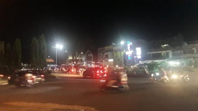 Pantauan Arus Lalu Lintas di Kota Jambi. Foto : Doni Saputra / Jambiupdate