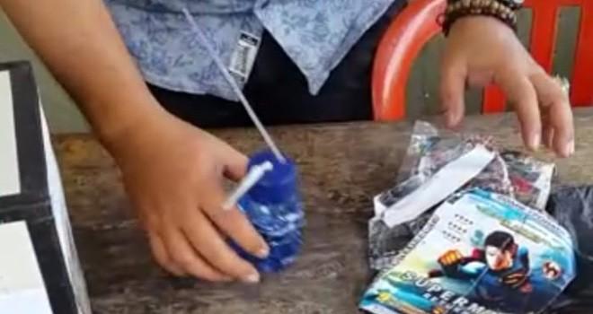 Barang bukti sabu dan bong yang merupakan milik oknum anggota Satpol PP Tebo. Foto : Munasdi / Jambiupdate