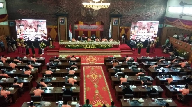 Paripurna Istimewa HUT Jambi ke 62. Foto Safwan / Jambiupdate