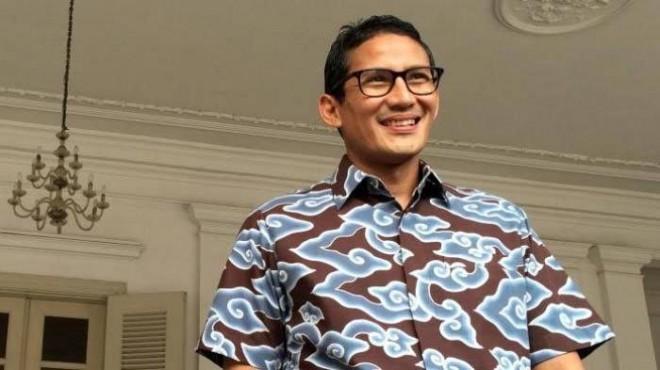 Calon Wakil Presiden, Sandiaga Salahuddin Uno (Sandi).