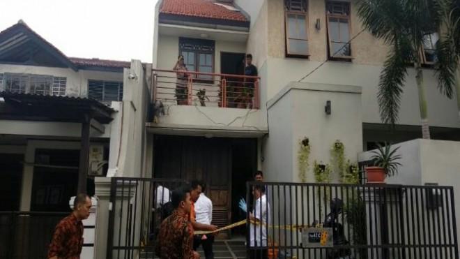 Rumah Wakil Ketua KPK, Laode Muhamad Syarif dilempar Bom Molotov (Istimewa)