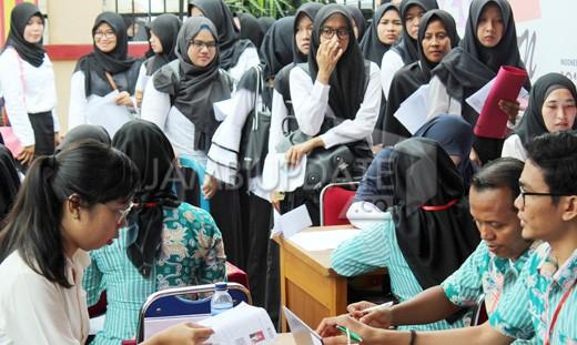 Peserta CPNS saat mengikuti tes beberapa waktu lalu. Foto : Dok Jambiupdate
