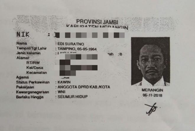 Caleg yang Sudah Ganti Status Pekerjaan. Foto : Wiwin / Jambiupdate