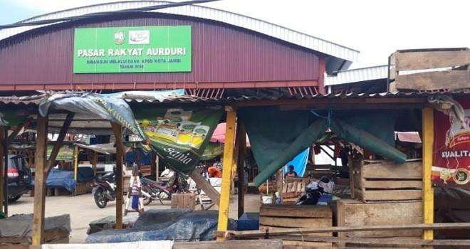 Gedung Pasar Aurduri. Foto : Dok Jambiupdate