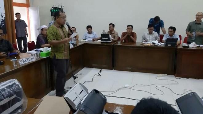 FOTO : FAIZARMAN/JE  RAKOR : Komisi Pemilihan Umum (KPU) Provinsi dan Kabupaten/Kota menggelar rapat koordinasi persiapan pemungutan dan penghitungan suara Pemilu 2019.