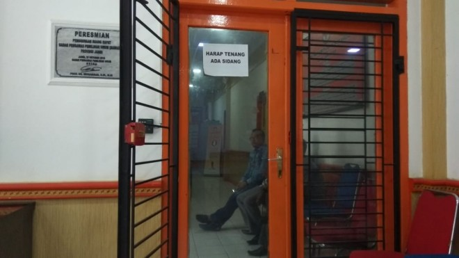 Rahmad Derita Kembali Diperiksa di Bawaslu. Foto : Safwan / Jambiupdate