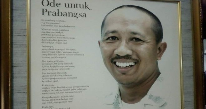 Almarhum Anak Agung Gde Bagus Narendra Prabangsa, wartawan Jawa Pos Radar Bali yang menjadi korban pembunuhan berencana oleh I Nyoman Susrama. (Jawa Pos Photo)