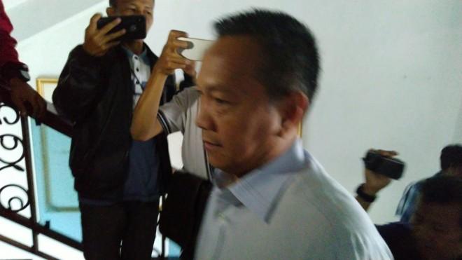 Sejumlah unsur Pimpinan dan Anggota DPRD Provinsi Jambi diperiksa di Polda Jambi, hari ini (12/2).