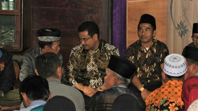 Sutan Adil Hendra (SAH), saat Kunjungan Aspirasi Masyarakat.