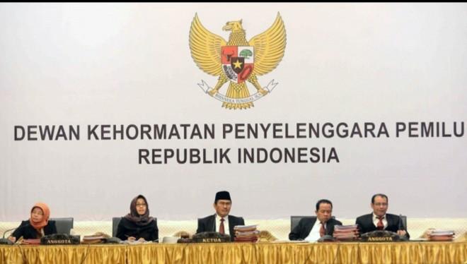 DKPP Tolak Seluruh Aduan Dugaan Pelanggaran Kode Etik Bawaslu Batanghari. Foto : Ist
