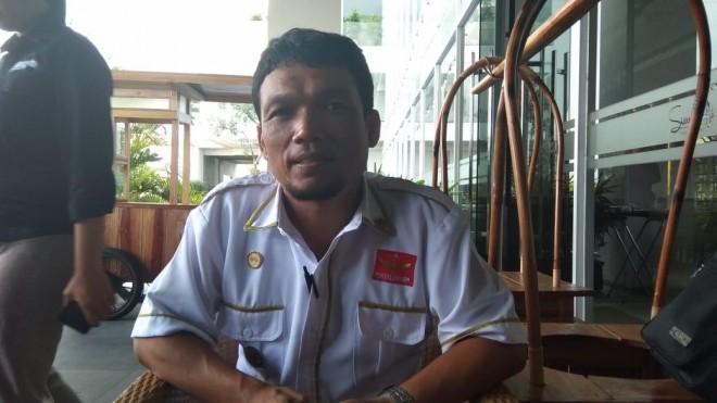 Grivan Mabner Ketua DPD Partai Garuda Provinsi Jambi. Foto : Safwan / Jambiupdate