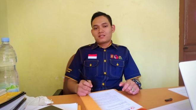 Ketua Bawaslu Batanghari Indra Tritusian