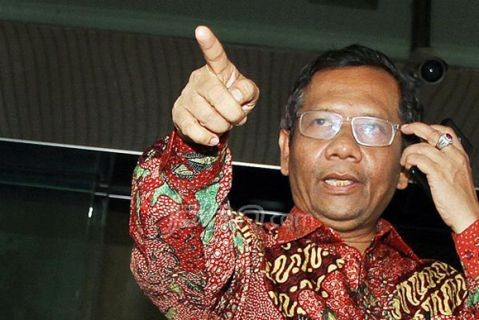 Mantan Ketua Mahkamah Konstitusi (MK) Mahfud MD. Foto : JPNN