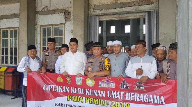 Pemilu 2019, Kapolda Jambi Himbau Semua Pihak Jaga Suasana Tetap Kondusif. Foto : Ist