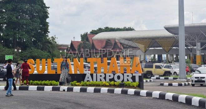 Bandara Sultan Thaha Jambi berhasil meraih penghargaan Airport Service Quality Award dari ACI. Foto : M Ridwan / Jambi Ekspres