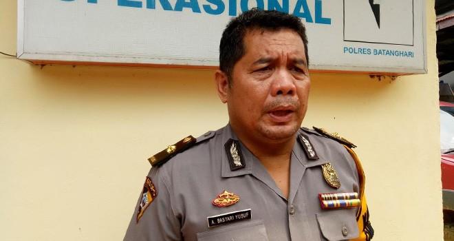 Kabag Ops Polres Batanghari, Kompol Ahmad Bastari. Foto : Reza / Jambiupdate