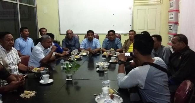 Jelang Kedatangan Prabowo, BPD Jambi Gelar Pertemuan. Foto : Ist For Jambiupdate