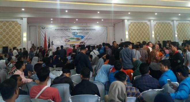 Lokasi Diskusi Publik dan Seminar Nasional  yang mengangkat tema