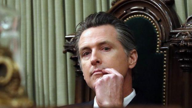 Gubernur California Gavin Newsom akan mengumumkan moratorium eksekusi dan penangguhan hukuman sementara untuk 737 narapidana (EPA)