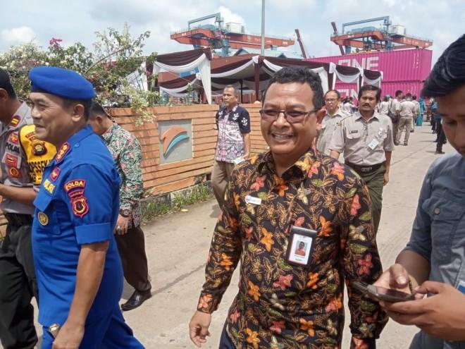 GM IPC Pelindo II Jambi , Kartiko Yuwono. Foto : Ist