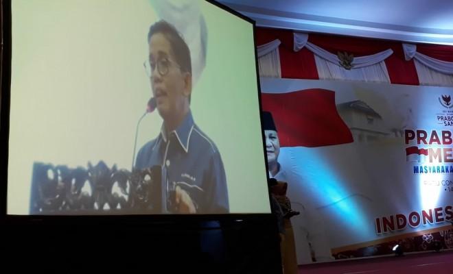 H Bakri Ketua DPW PAN Provinsi Jambi. Foto : Safwan / Jambiupdate
