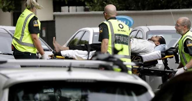 Penembakan Umat Muslim di Masjid Al Noor New Zealand. Foto : Ist