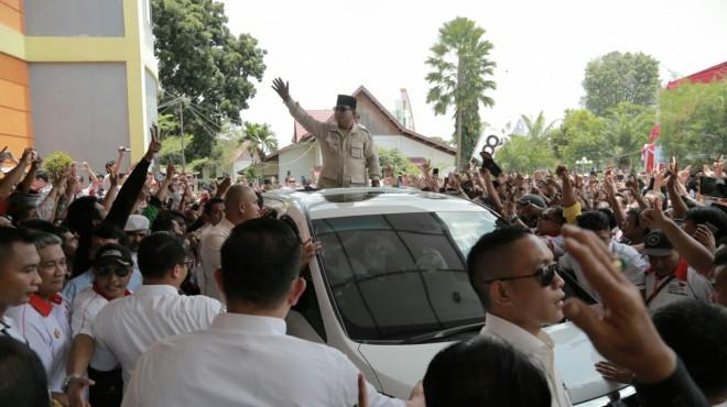 Capres Prabowo Subianto.