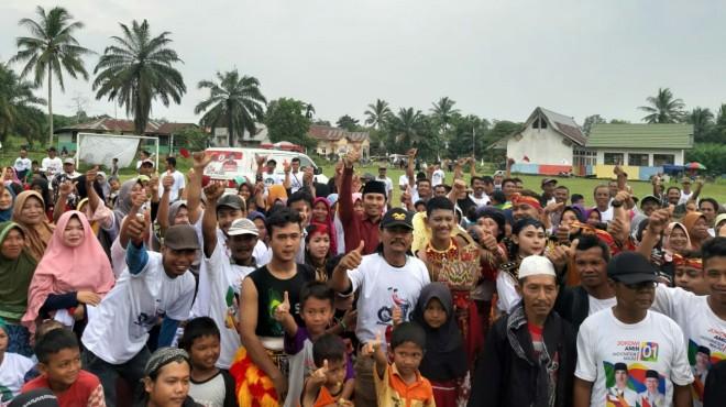 Ketua DPD PDI Perjuangan, Edi Purwanto saat Road Show ke Kabupaten