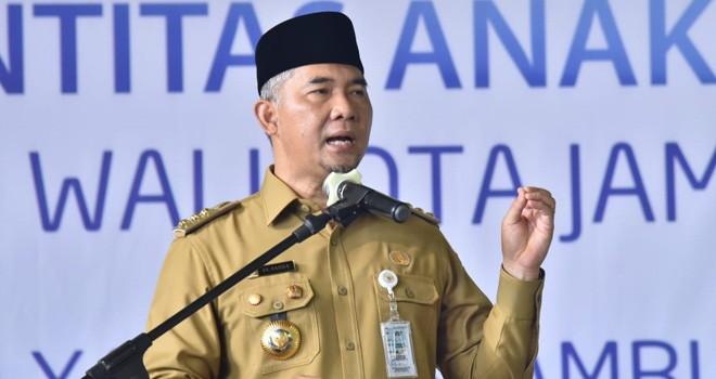 Wali Kota Jambi Syarif Fasha. Foto : Ist