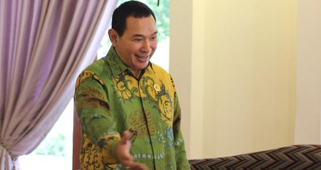 Ketua Umum Partai Berkarya Hoetomo Mandala Putra, yang lebih akrab dipanggil Tommy Soeharto. Foto : Ist