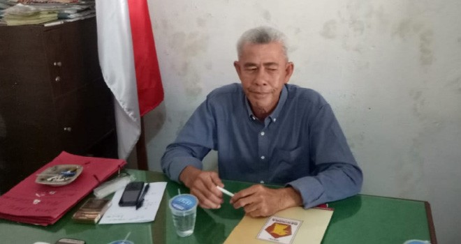 Ketua DPC Partai Gerindra, Aminuddin. Foto : Reza / Jambiupdate