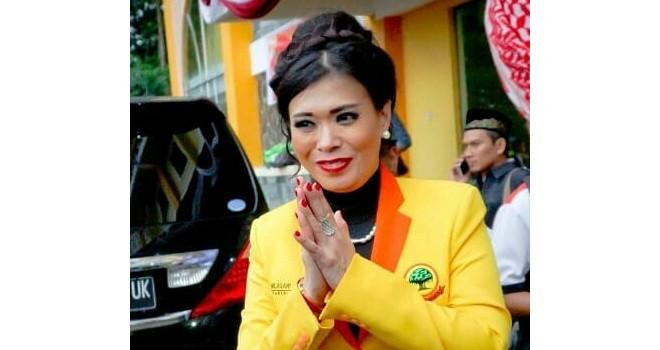 Milasari Kusumo Anggraini (Caleg DPR RI Partai Berkarya). Foto : Ist