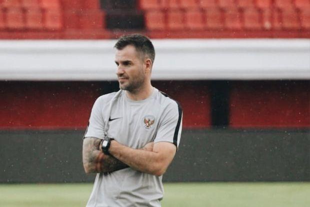 Pelatih Timnas Indonesia, Simon McMenemy (Dok. PSSI)