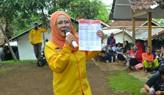 Sarimaya, calon legislatif (caleg) DPR RI daerah pemilihan (dapil) Jawa Barat XI. Foto : Ist