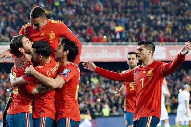 Spanyol menang 2-1 atas Norwegia (Twitter @sport_news25)