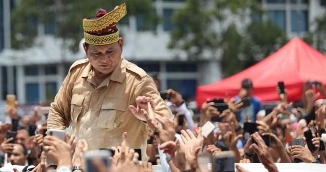 Calon Presiden nomor urut 02, Prabowo Subianto.