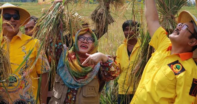 Mbak Tutut, putri pertama Presiden Soeharto. Foto : Ist