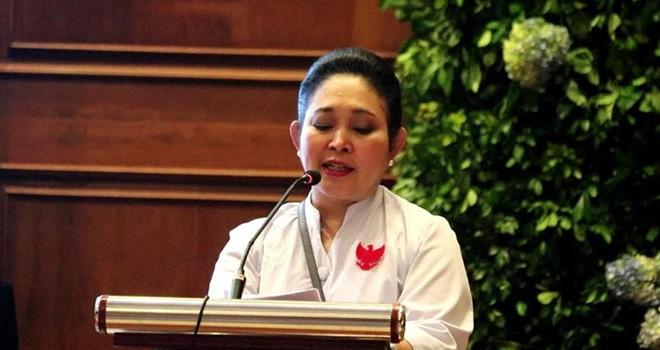 Ketua Dewan Pertimbangan Partai Berkarya Siti Hediati Hariyadi atau Titiek Soeharto. Foto : Ist