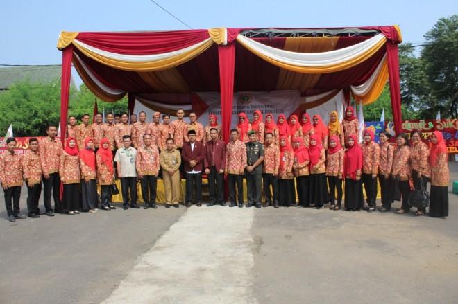 HUT PPNI ke-45 Provinsi Jambi Gelar Seminar, Germas (Jalan Santai, Senam Makan Buah Bersama) Banti Sosial dan Upacara. Foto : Ist