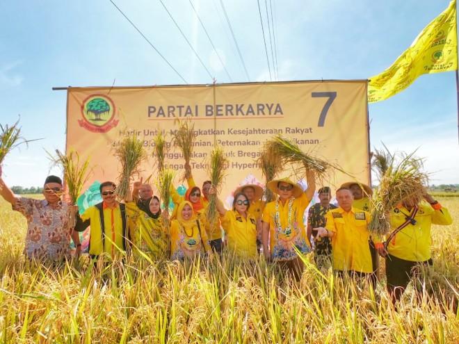 Tommy Soeharto: Selama 21 Tahun Sektor Pertanian Jalan di Tempat. Foto : Ist