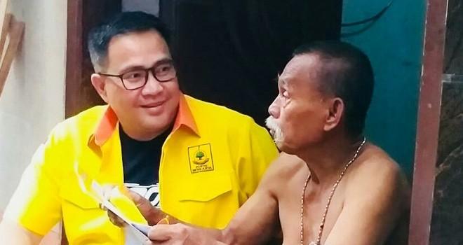 Hence Carlos Kaparang, calon legislatif (caleg) Partai Berkarya daerah pemilihan (dapil) DKI Jakarta I. Foto : Ist