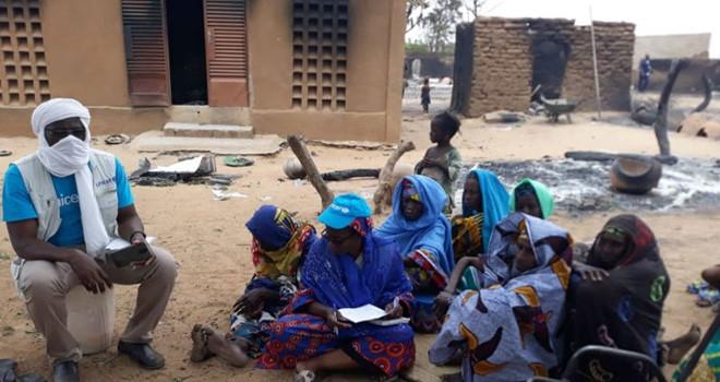 34 muslim di Desa Ogossagou Mali tewas dibantai.