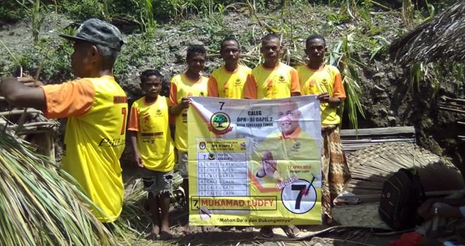 Muhamad Ludfy, calon legislatif Partai Berkarya daerah pemilihan (dapil) Nusa Tenggara Timur (NTT) 2. Foto : Ist