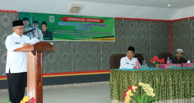 Wakil Bupati Kerinci, Ami Taher. Foto : Gusnadi / Jambiupdate