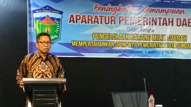 Munasri, M. Si, MH, Sekretaris Daerah Kota Sungai Penuh.