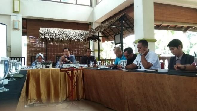Acara Fasilitasi dan Koordinasi dengan mitra Kerja Insan Pers, Senin (1/4).